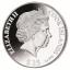 Серебряная монета Год Крысы 2020- Соломоновы острова 25$, 99,9% серебряная монета с  вставкой из натурального перламутра,  5 унции,