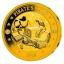 Пираты Барбадоса - Барбадос 2018 Набор из 3 позолоченных монет