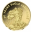 Орёл (монета США) -  Республика Конго 100 франков, 99,9% золотая монета, 0,5 гр