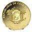 Taevatempel - Temple of Heaven-  100 Fr. Elevandiluurannik  2016.a. 99,9%  kuldmünt 0,5 g