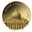 Rooma Peetri Kirik - St. Peters Basilica Hongo 100  Fr. 2015.a. 99,9%  kuldmünt 0,5 g