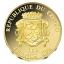 Храм Василия Блаженного - Конго 100 Франк 2017 г.  99,9% золотая монета 0,5 гр