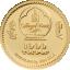 Sea aasta 2019 - Mongoolia 1000 Tugrikut 99,9% kuldmünt - 0,5 g