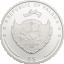 Unts õnne - Palau 5 $ 2019.a. 1 untsine 92,5% hõbemünt ehtsa ristikheina lehega
