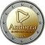 2 € юбилейная монета 2017 г.  Андорра - Пирене́и