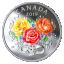 Rakkauden Vuosipäivä - Kanada  3 $ 2019 v. 99,9% hopearaha väripainatuksella, Swarovski® kristalli, 7,96 g