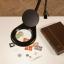 SWING LED magnifier lamp with 1.75x magnification (3 diopters)