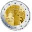 Годовой набор Евро монет Испании  2021 года - комплект