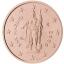 Сан-Марино 1, 2 и 5 цент 2006 года, набор