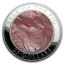 Year of the Pig Cook Islands 5$ 2019 99,9% Silver Coin  with the Mother of Pearl, 5 Oz