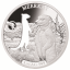 Shapes of Africa. Cut-Out Silver Coin Collection Meerkat. Djibouti 250 Fr 2019. 99,9% silver coin 1 oz