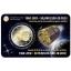 Belgia 2€ erikoisraha 2018 - 50 vuotta ESRO 2B -satelliitin laukaisusta