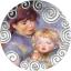 Emadus kunstis (Maternity in Art) -  Kameruuni 1000 Fr 2019.a. värvitrükis 99,9% hõbemünt  31,1 gr