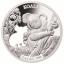 Australia kuviot - Koala - Salomonsaaret 5 $ 2019.v. 99,9% hopearaha lasererleikauksella, 1 unssi