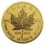 """Kanada vahtraleht (Maple Leaf) kuldmündi  40. sünnipäev"""" - Kanada  0,25$ 2019.a. pööratud proof kvaliteedis 99,99% kuldmünt 0,5 g"""