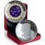 Horoskooppimerkit - Vesimies - Kanada  5 $ 2019 v. 99,99% hopearaha, Swarovski® kristallia, 7,96 g