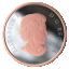 """""""Abiellunud 2019.a."""" - Kanada 20 $ 2019.a. 1-untsine 99.99% hõbemünt roosa kullatisega"""