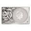 Sian vuosi 2019  Australian 1$ 99,99% hopearaha ja 2-unssin 99,99% hopealaatta,  kokonaisuus