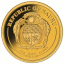 Leonadro da Vinci-Vitruviuse mees - Nauru 1/2 $ 2019.a.  99,99% kuldmünt 0,5 g