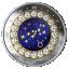 Sodiaagimärgid -Sõnn Kanada 5$ 2019.a 99,99% hõbemünt Swarovski® kristallidega 7.96 g