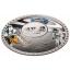 50 aastat esimesest mehitatud missioonist Kuule- Salomoni saarte 5$ 2019.a. plato-tehnikas värvitrükis 50 g  99,9% hõbemünt