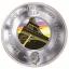 Eiffeli torni 130. sünnipäev- Saalomoni saarte 10 $ 2019.a 99,99% 5-untsine hõbemünt klaasist elemendiga