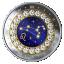 Sodiaagimärgid -Lõvi - Kanada 5$ 2019.a 99,99% hõbemünt Swarovski® kristallidega 7.96 g