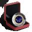 Sodiaagimärgid -Neitsi- Kanada 5$ 2019.a 99,99% hõbemünt Swarovski® kristallidega 7.96 g