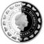 Vastasyntynyt vauva2019 -  Niue saarivaltio 2019 v. 2 $ 99,99% 1 unssi hopearaha,  Preciosa kristallia