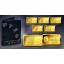 Zodiac Series 2020 Aquarius. Solomon Islands 10$ 2020 99,99% Gold Coin 0,5 g