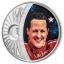 Spordilegendid Sid Maureri teostes - Michael Schumacher - Saalomoni saarte 5 $ 2018.a  1 untsine  99,9% hõbemünt